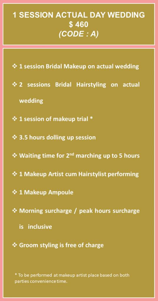 Rates Bridal Makeup A